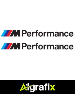 BMW M Performance Logo Black