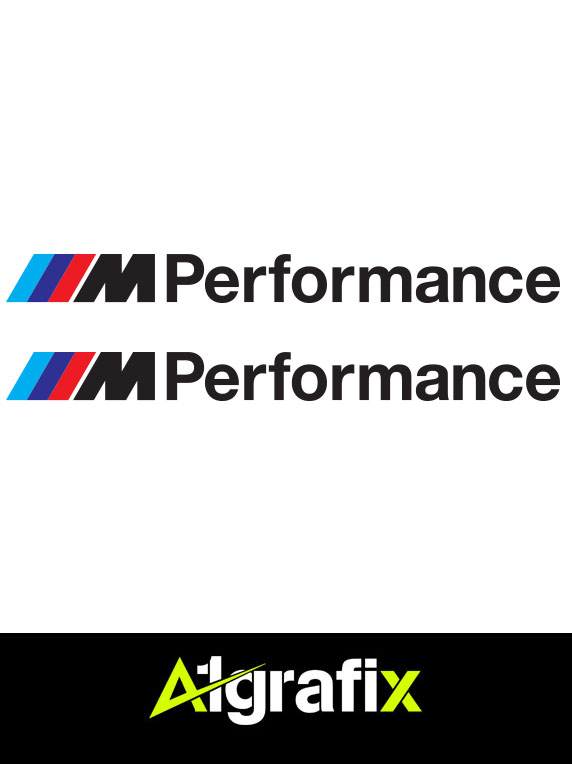 Bmw M Performance Logo Black A1grafix Com