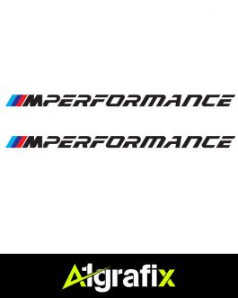 BMW M Performance Logo 2 Black
