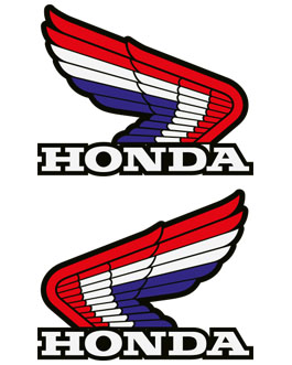 Honda Retro CR Logo